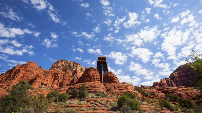 The Chapel of Holy Cross Arizona USA