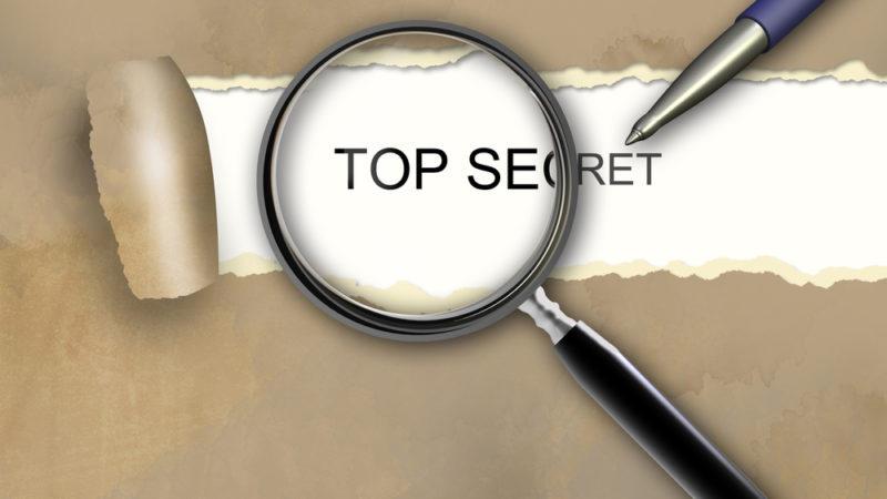 Top Secret Unpublished
