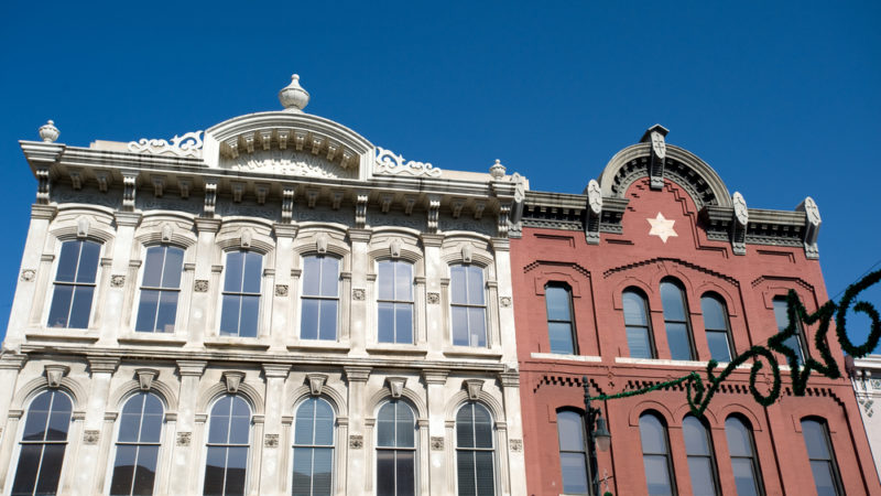 Victorian buildings Austin