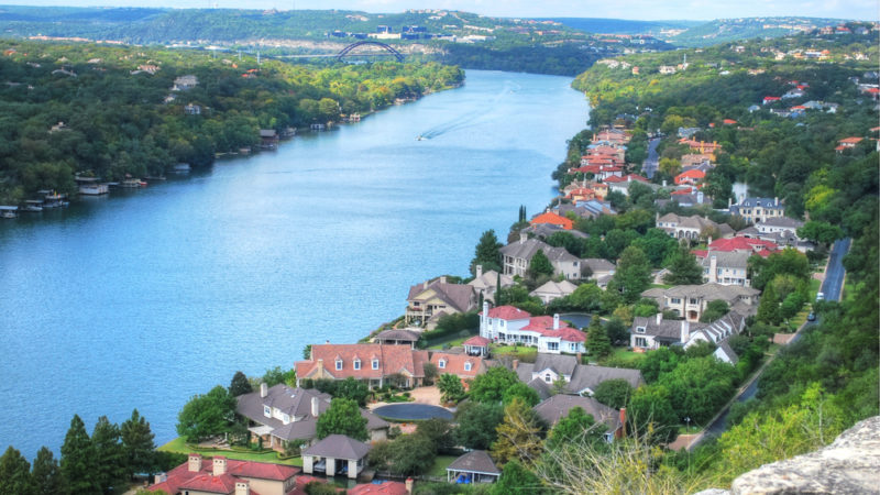 View from Mount Bonnell Austin