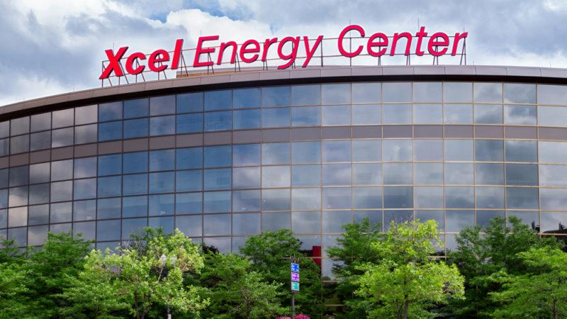 Xcel Energy Center minneapolis