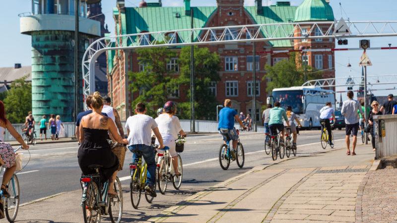 Cycling Copenhagen, Denmark