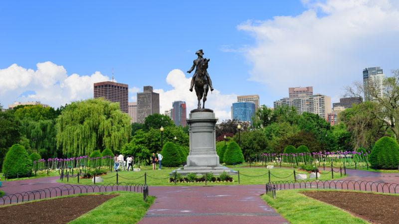 Boston Washington Statue