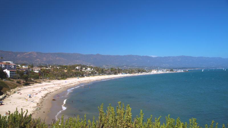 CARPINTERIA beach santa barbara California