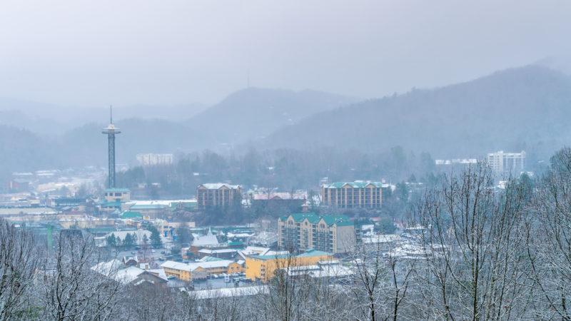 Gatlinburg Tennessee Winter