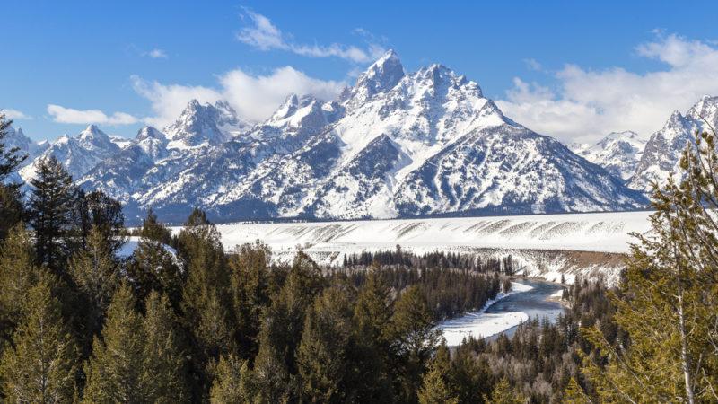 Grand Teton Jackson Wyoming