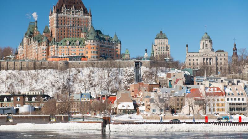 Old Quebec Winter