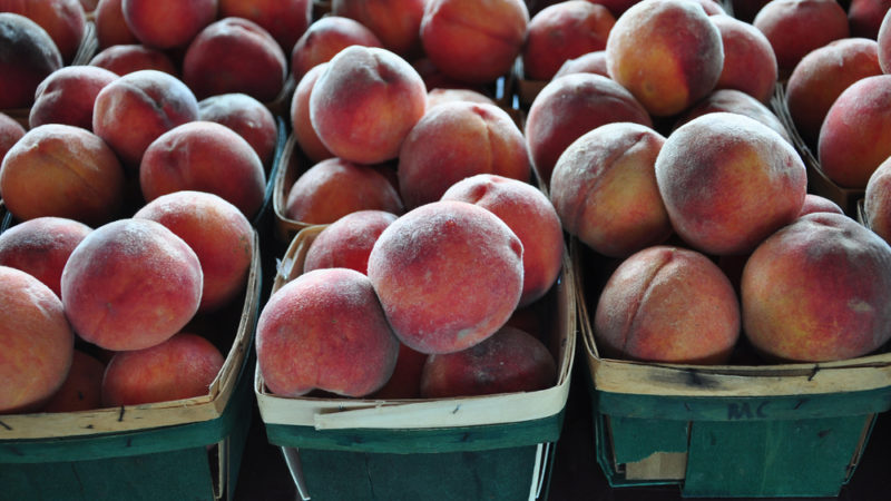 Peaches Raleigh NC Market