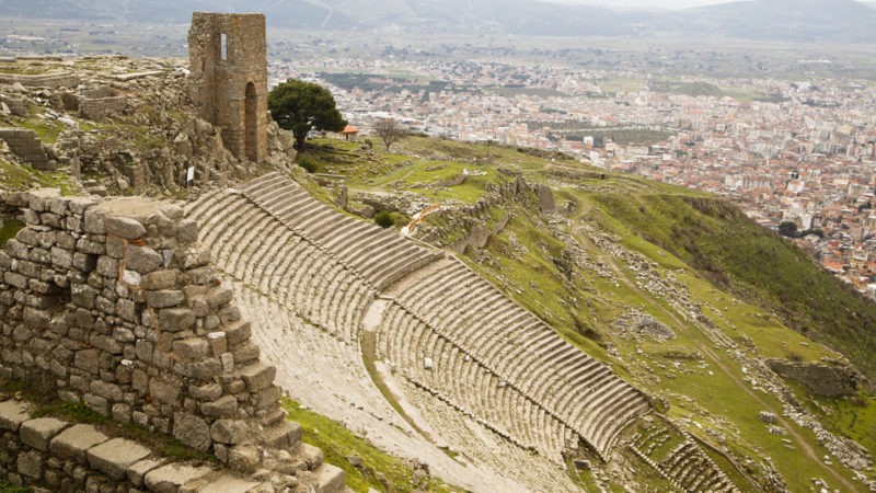 Pergamon City Turkey
