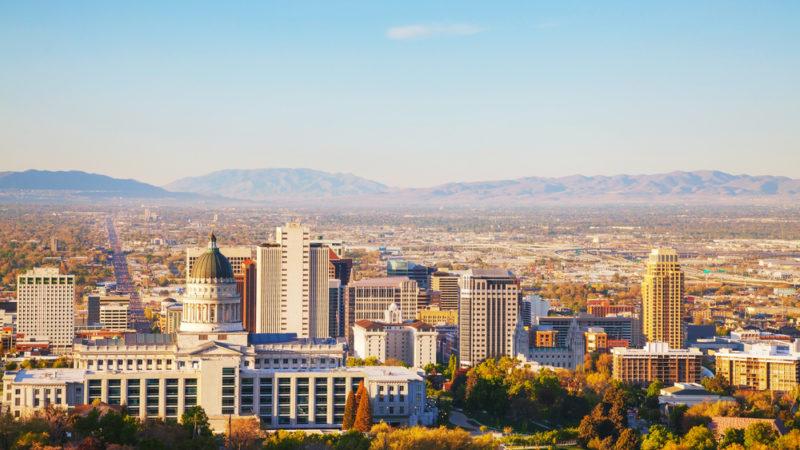 Salt Lake City Scene