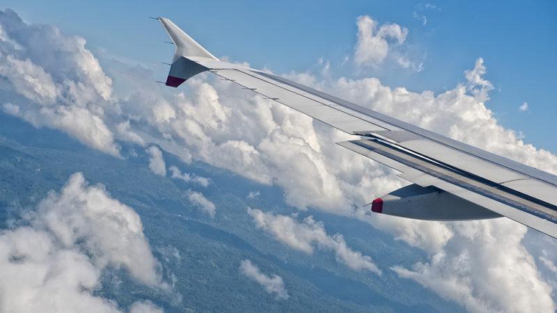 plane flying indonesia