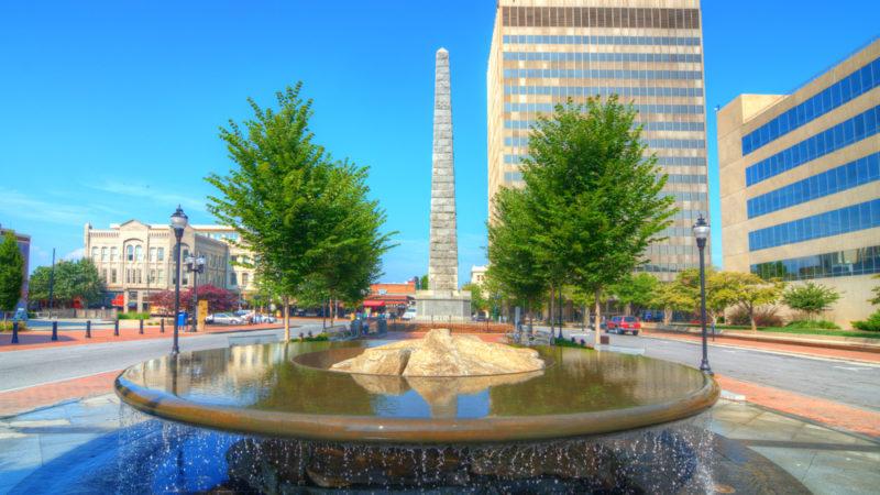 Pack Square Park Asheville