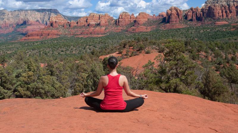 Sedona, Arizona meditation