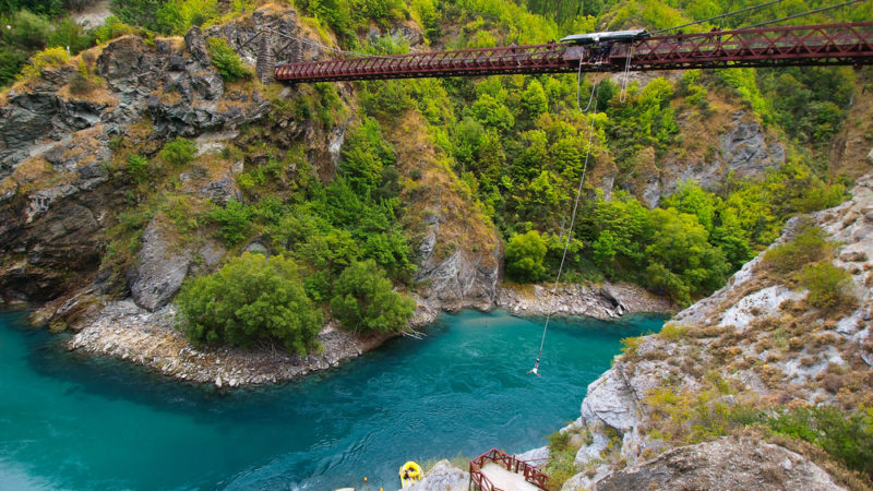 The Pipeline Bungee, New Zealand