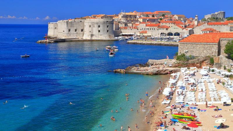 Beach Dubrovnik Croatia