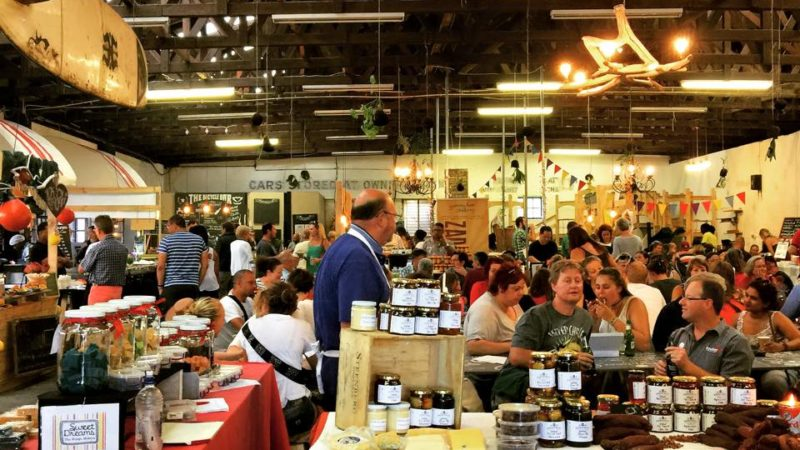 Photo by: Blue Bird Garage Food and Goods Market