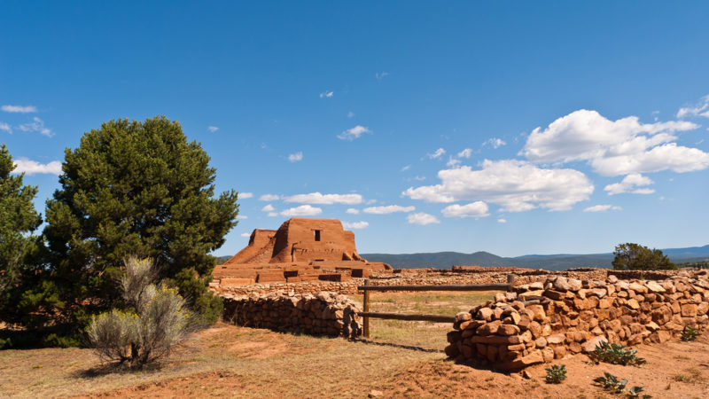 Pecos National Historic Park Santa Fe New Mexico