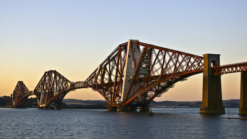 The Forth Bridge UK