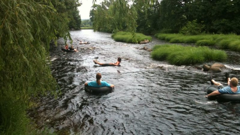 Photo by: Gaspereau River Tubing