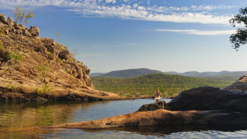 Gunlom Pools Kakadu