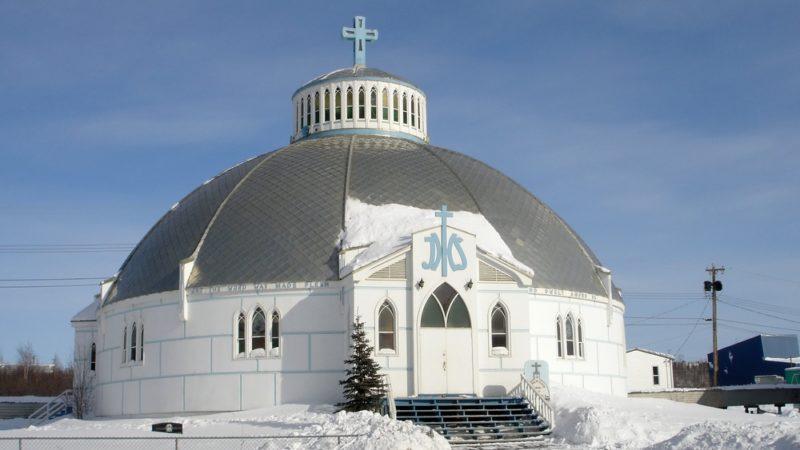 Igloo church Northwest Territories