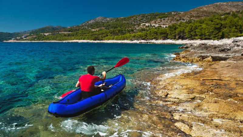 Kayak Adriatic Coast, Croatia