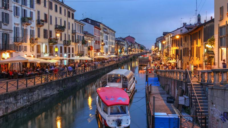 Navigli Canals, Milan