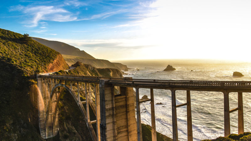 Pacific Coast Highway Bixby Bridge Big Sur