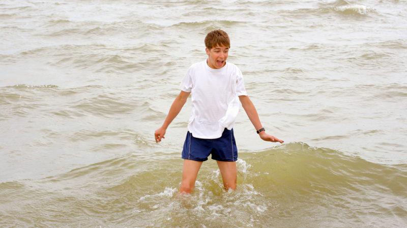 Scared of Ocean