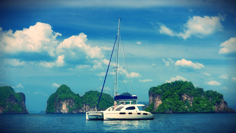 Thailand yacht