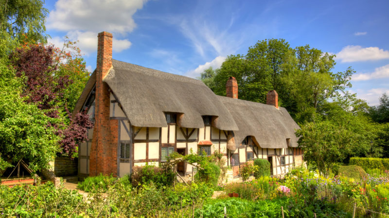 Anne Hathaway Cottage, England