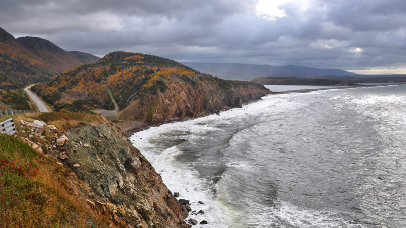 Cape Breton, Nova Scotia Cabot trail fall