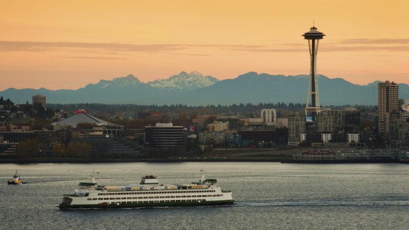 Ferry Boat in Seattle
