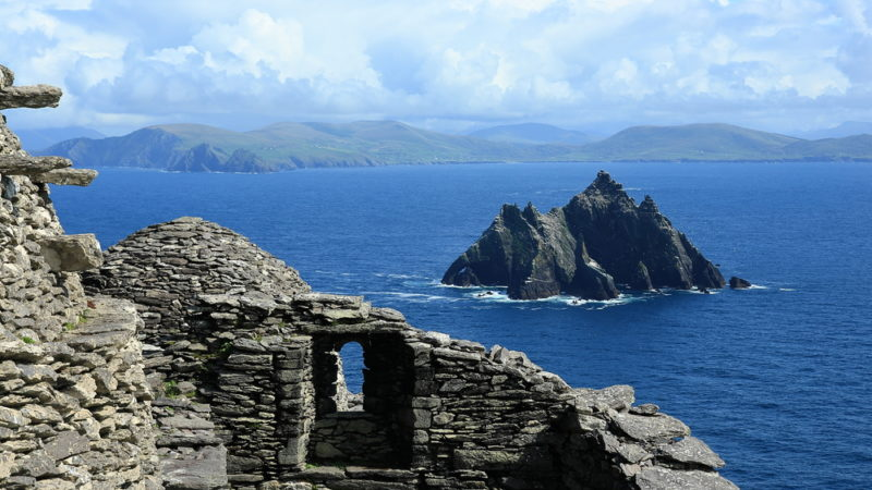 Island Skellig Michael, Ireland