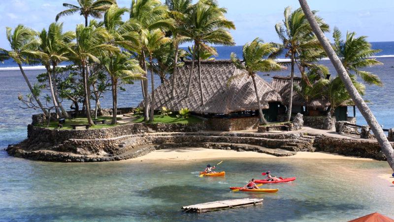 Kayak Fiji