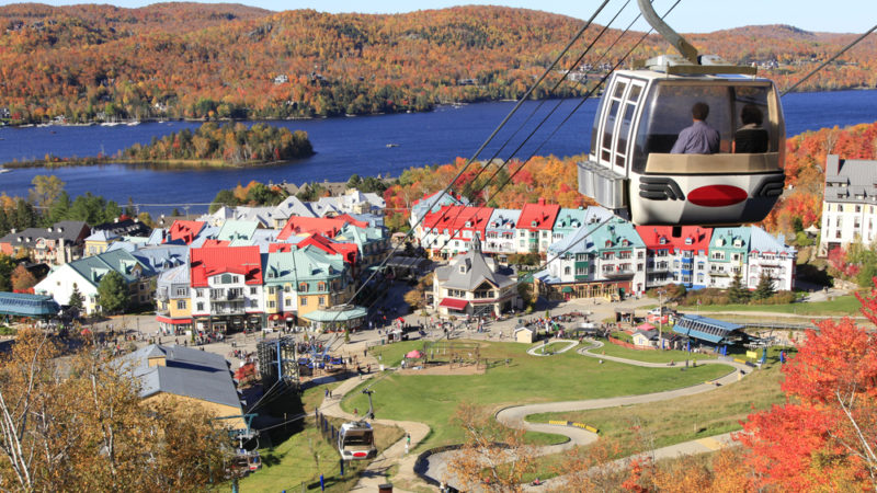 Mont-Tremblant fall