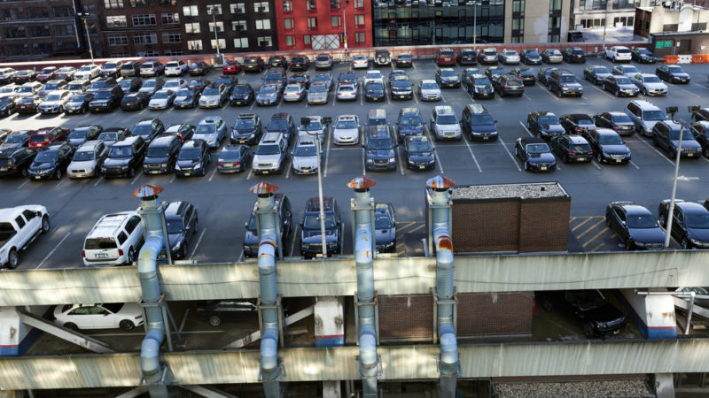 New York parking lot