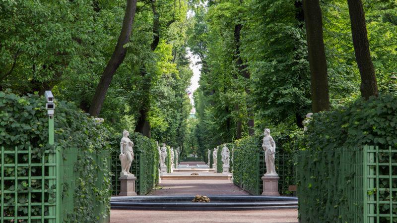 The Summer Garden, St Petersburg Russia