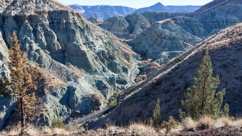 Blue Basin at Sheep Rock oregon