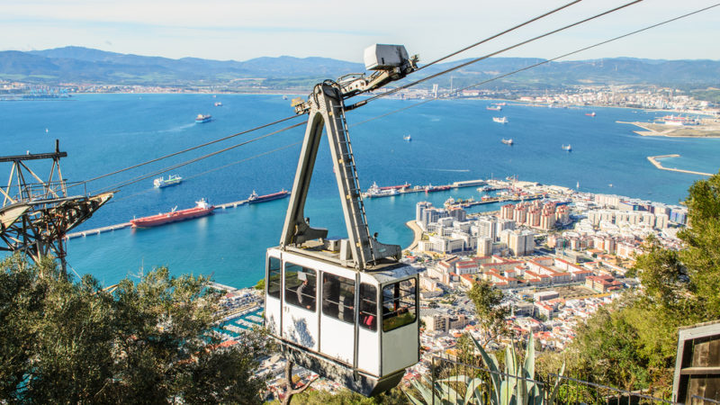 Gibraltar Cable Car , Spain