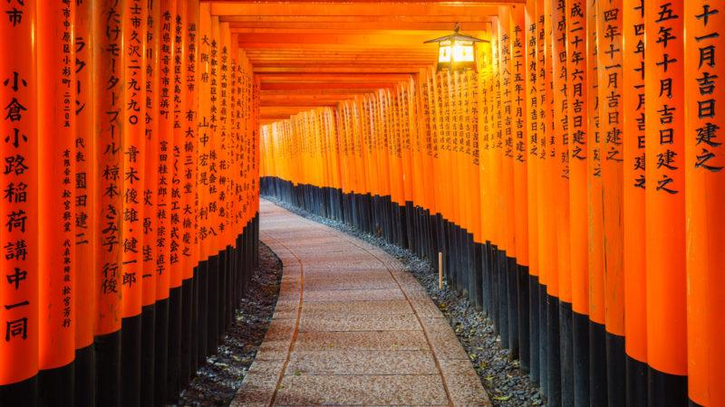 Japan Torri Gates