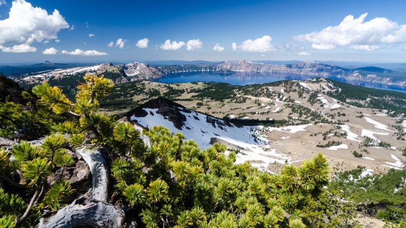 Mount Scott view of Crater Lake Oregon