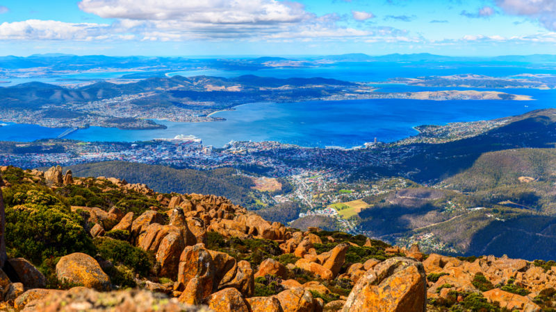 Mount Wellington Peak, Tasmania