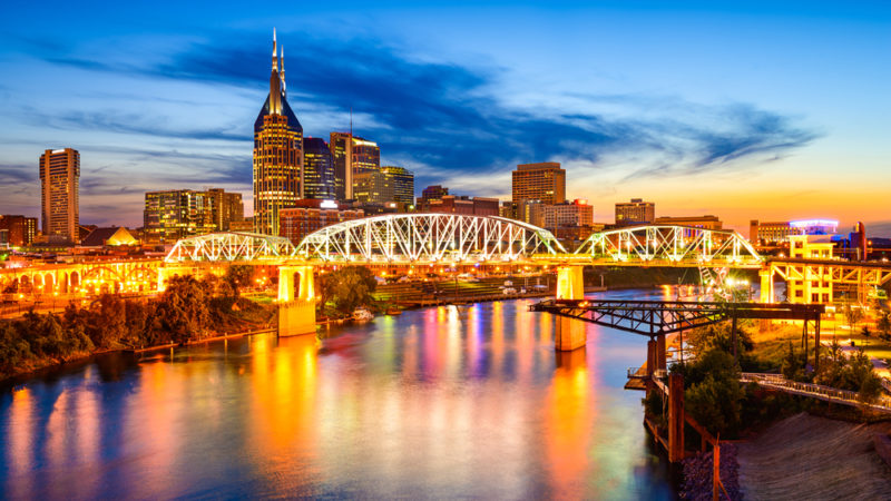Nashville downtown skyline