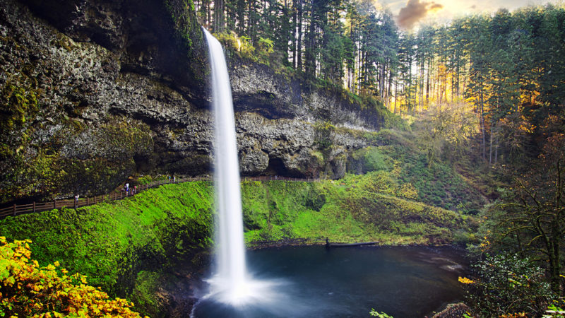 Silver Falls South Falls State Park Oregon