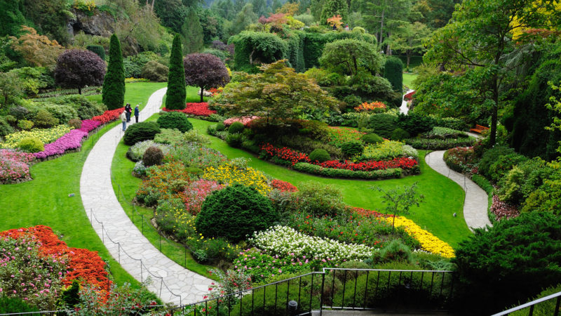 The Butchart Gardens, Canada