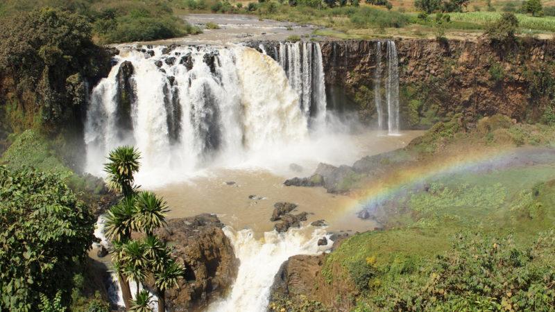Blue Nile Falls Ethopia Africa