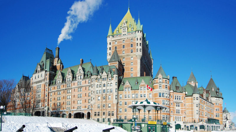 Chateau Québec City, Canada