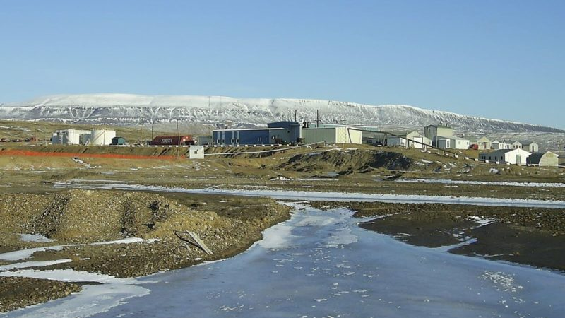 """Eureka Research Station, Ellesmere Island, Nunavut, 2005 -c"" by ceedub13 - 2005 Eureka, NU. Licensed under CC BY 2.0 via Wikimedia Commons."