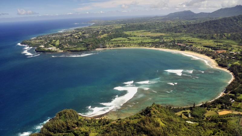 Hanalei Beach, Hawaii